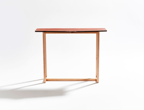 Forest Red Hall Table
