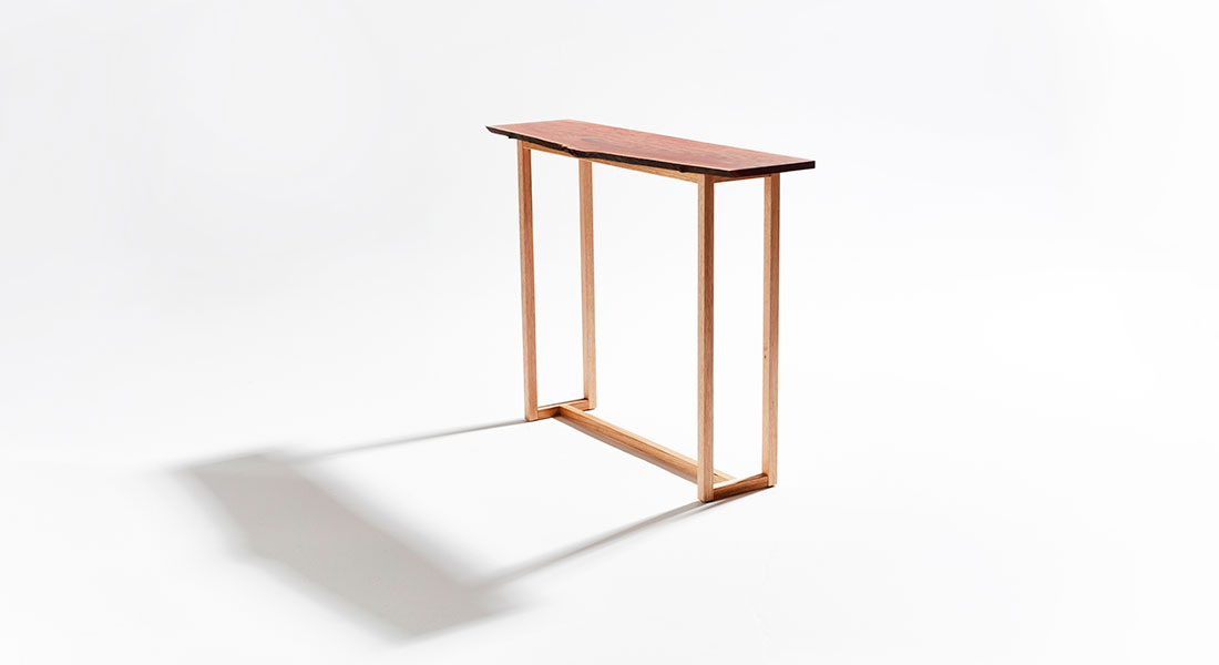Forest Red Hall Table 002